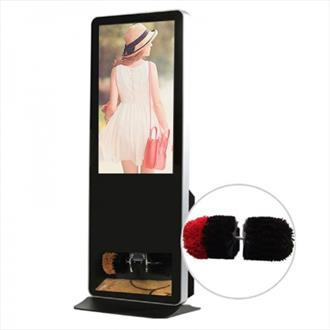 Shoe Shine Freestanding Digital Display