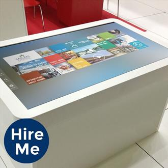 "32"" Interactive Cube Touch Table"