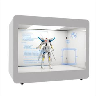 Transparent Showcase Digital Display