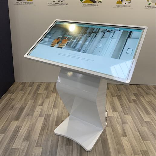 Interactive Freestanding Display, touch screen, interactive screen, Interactive kiosk, wayfinding