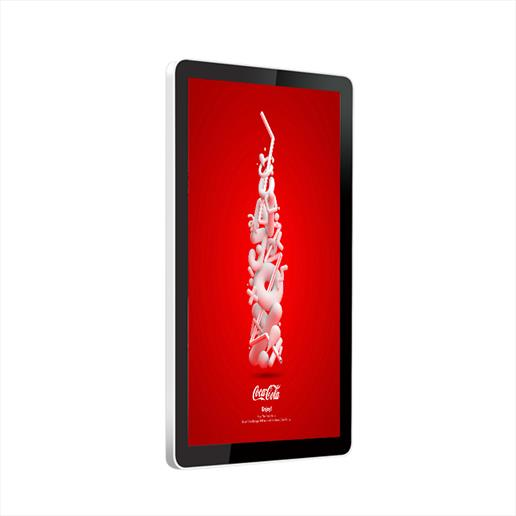wall mounted display, poster display, interactive screen,wall mount digital sign,advertising screen