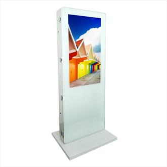 "42"" Dual Sided Freestanding Digital Display"