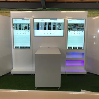"Event Modular System - 3 x 49"" Digital Displays"