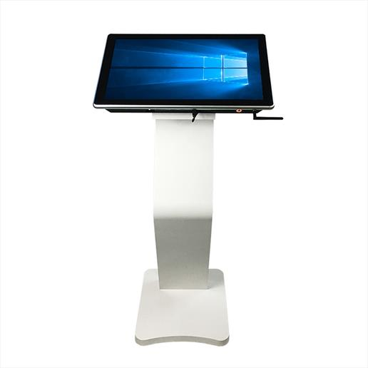 high angled interactive kiosk, interactive advertising, interactive advertising kiosk