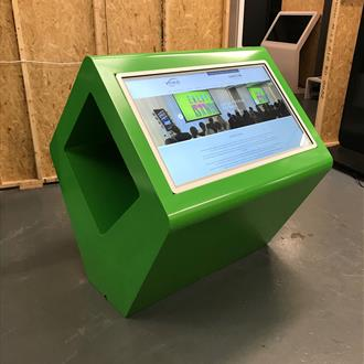 "43"" Interactive Dual Kiosk Pod - Any Colour Available"