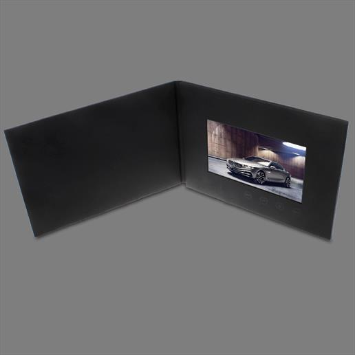 video brochure, video cards, videos built in a card