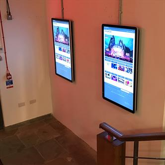 wall mounted screen,digital screen,menu screen,advertising screen,