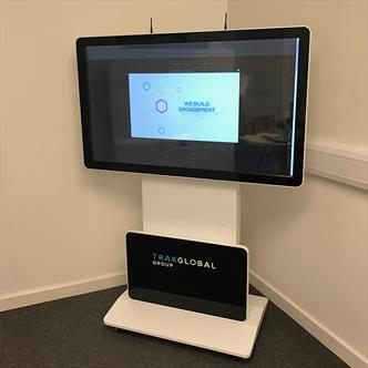 rotate interactive screen, interative totem,rotate screen,rotating digital display, freestanding rotate