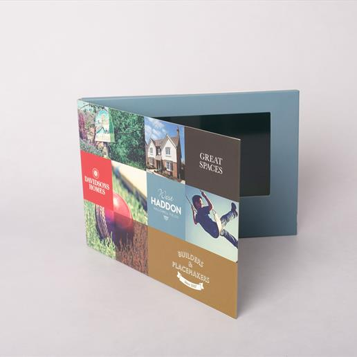 video brochures, video in a card, digital marketing, marketing tool, video business card, video box, video gift box