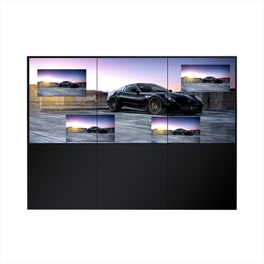 video wall,freestanding video wall,digital video wall,multi screen wall, video wall signs