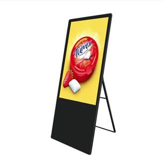 "42"" Freestanding Easel Digital Display"