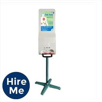 "19"" Freestanding Digital Hand Sanitiser"