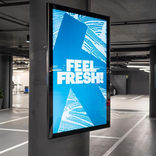 Interactive Freestanding Display, touch screen, interactive screen, outdoor screen, advertising screen,