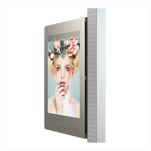 Dual Sided Outdoor Wall Mounted Display 02
