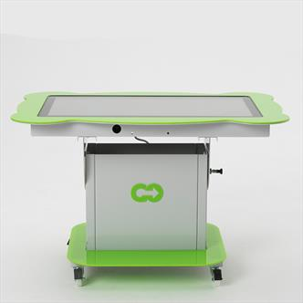 nursery table,interactive table,touch screen kids,giant iPad,gointeractivenurserytable