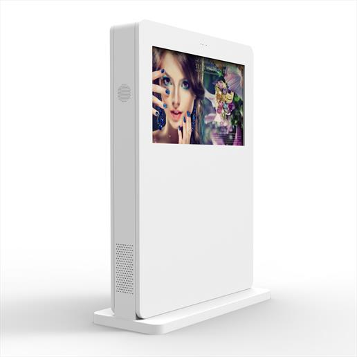 Interactive Freestanding Display, touch screen, interactive screen, outdoor screen