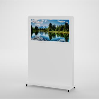"43"" - 49"" Landscape Freestanding Digital Displays - Any colour available"